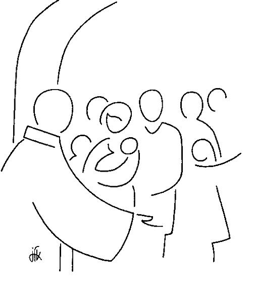 Dessin Baptême Catholique le sacrement du baptême