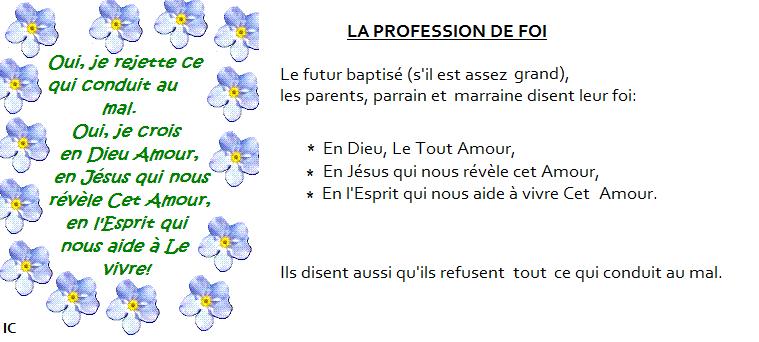Le Sacrement Du Baptême