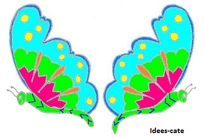 Image bricolage papillon