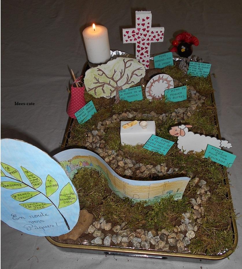 Semaine sainte - Chemin de table pour paques ...