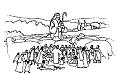 Image pasteur et brebis