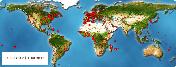 Carte des visiteurs.