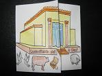 Image jesus et marchands du temple